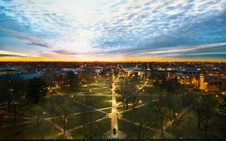 The Oval at dawn