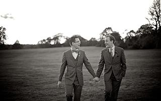Same-sex couple study image