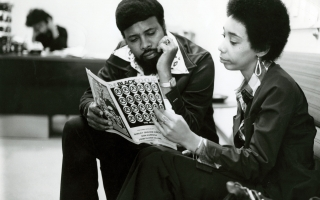 Students in African American and African Studies in the 1970s | Photo courtesy of The Ohio State University Archives