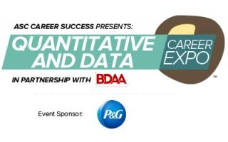 Quantitative and Data Career Expo (event icon)
