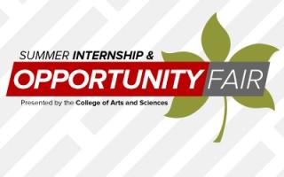 Summer Internship Opportunity Fair logo