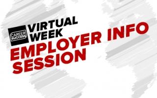 Virtual Week - Employer Info Session