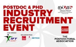 Postdoc & PhD Industry Recruitment Event