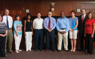 Alumni Society members.