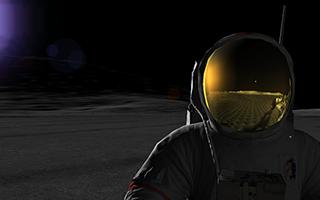 Web-based computer game, Moon Rush.