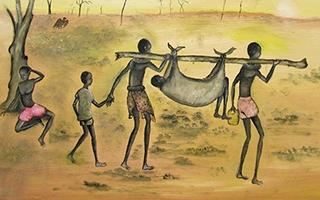 Bol Aweng's artwork