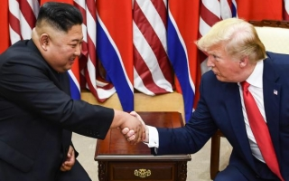 Trump and Korean leader