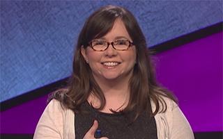 photo of Deborah Elliott on Jeopardy