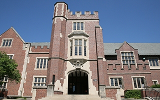 A photo of Pomerene Hall
