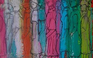 Sidi Gluck painting
