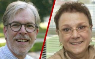 Clark Larsen and Anita Hopper