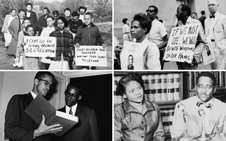 Four photos featured in Picturing Black History
