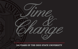 Time and Change: 150 Years of The Ohio State University cover