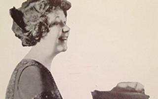 Woman playing piano image