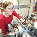 CEM researcher Shawna Hollen in lab