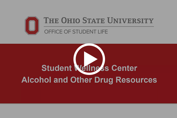 Alcohol and Other Drug Resources Video