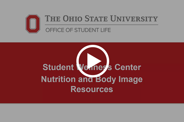 Nutrition Resources Video