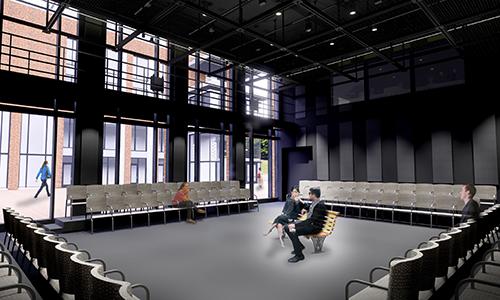 Theatre Black Box Rendering