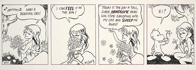 "A ""Thorn"" comic strip from the Billy Ireland Cartoon Library & Museum's Jeff Smith Collection."
