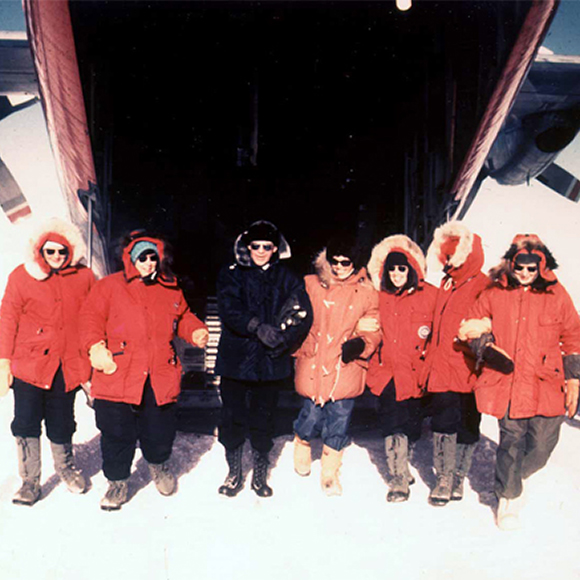 First all-female research team arrives in Antarctica