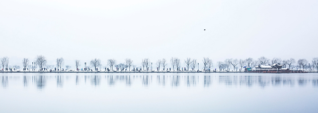 West Lake in Winter by Yifei Miao