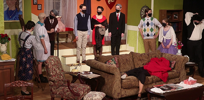 """Thomas Worthington High School theater students perform """"You Can't Take It with You."""""""